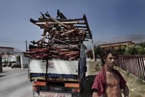 Garbage in Palermo -June 2009-